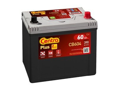 Battery 12V  60Ah CENTRA PLUS CB604