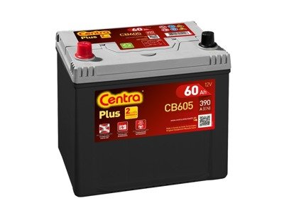 Battery 12V  60Ah CENTRA PLUS CB605