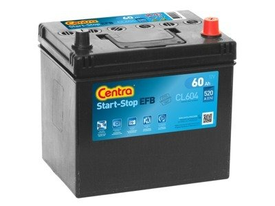 Battery 12V  60Ah CENTRA START-STOP EFB CL604