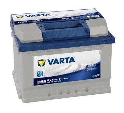 Battery 12V  60Ah D59 VARTA Blue