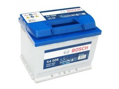 Battery 12V  60Ah S4006 BOSCH S4