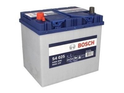 battery 12v 60ah s4025 bosch s4 akumulatory car batteries bosch bosch s4. Black Bedroom Furniture Sets. Home Design Ideas