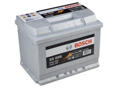 Battery 12V  63Ah S5005 BOSCH S5