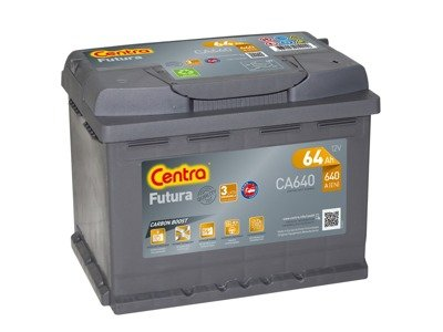 Battery 12V  64Ah CENTRA FUTURA CARBON BOOST CA640