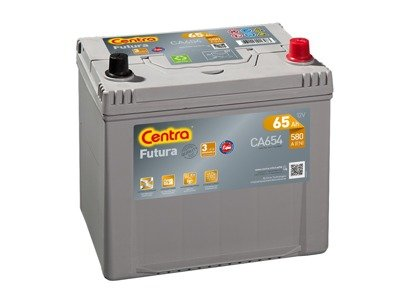 Battery 12V  65Ah CENTRA FUTURA CARBON BOOST CA654