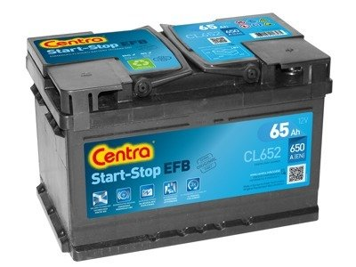 Battery 12V  65Ah CENTRA START-STOP EFB CL652