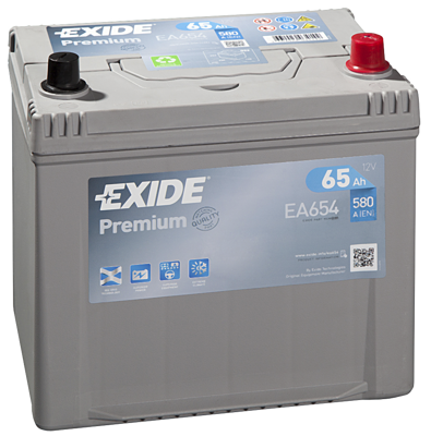 Battery 12V  65Ah EXIDE PREMIUM CARBON BOOST EA654