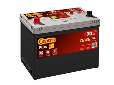 Battery 12V  70Ah CENTRA PLUS CB705