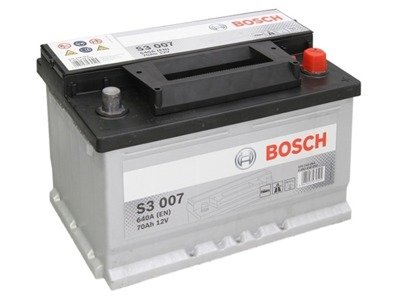 Battery 12V  70Ah S3007 BOSCH S3
