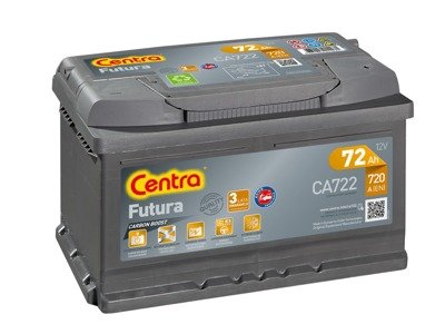 Battery 12V  72Ah CENTRA FUTURA CARBON BOOST CA722