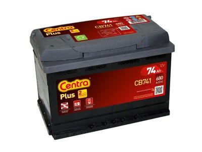 Battery 12V  74Ah CENTRA PLUS CB741