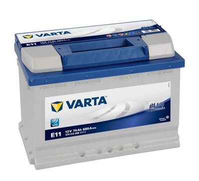 Battery 12V  74Ah E11 VARTA Blue