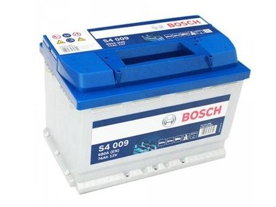 Battery 12V  74Ah S4009 BOSCH S4