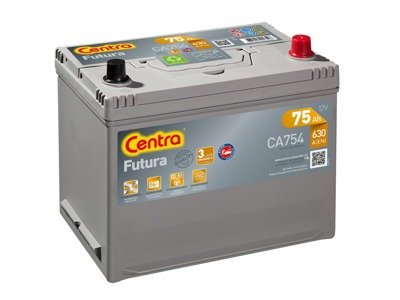Battery 12V 75Ah CENTRA FUTURA CARBON BOOST CA754