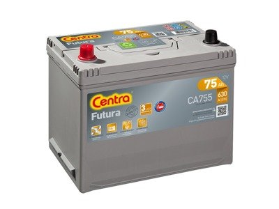 Battery 12V  75Ah CENTRA FUTURA CARBON BOOST CA755