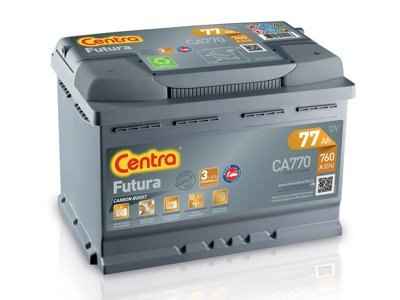 Battery 12V  77Ah CENTRA FUTURA CARBON BOOST CA770