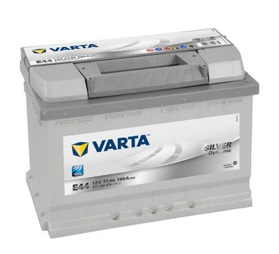 Battery 12V  77Ah E44 VARTA Silver