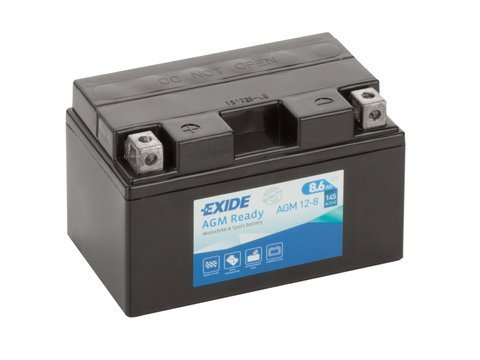 Battery 12V   8,6Ah AGM12-8 EXIDE