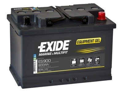 Battery 12V  80Ah EXIDE EQUIPMENT GEL ES900