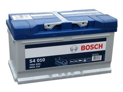 battery 12v 80ah s4010 bosch s4 akumulatory car. Black Bedroom Furniture Sets. Home Design Ideas