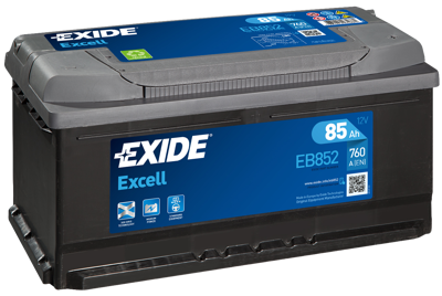 Battery 12V  85Ah EXIDE EXCELL EB852