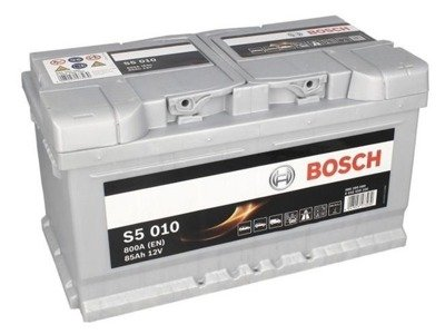Battery 12V  85Ah S5010 BOSCH S5