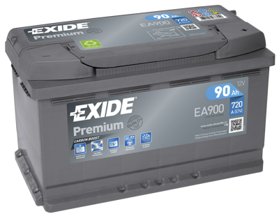 Battery 12V 90Ah EXIDE PREMIUM CARBON BOOST EA900