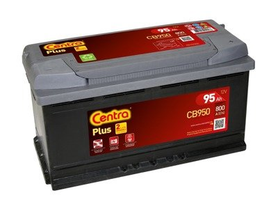 Battery 12V  95Ah CENTRA PLUS CB950