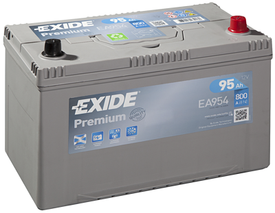 Battery 12V 95Ah EXIDE PREMIUM CARBON BOOST EA954