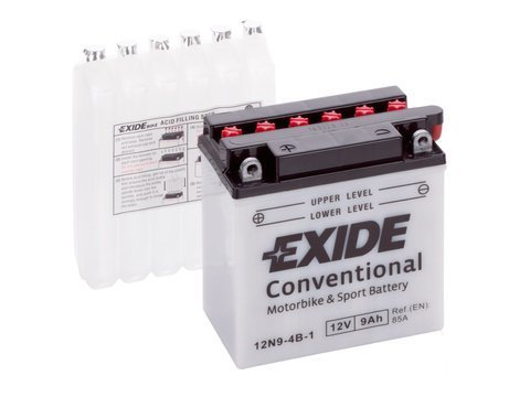 Battery 12V   9Ah 12N9-4B-1 EXIDE