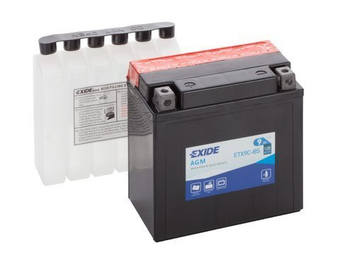 Battery 12V   9Ah YTX9C-BS EXIDE