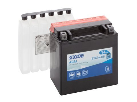 Battery 12V YTX16-BS EXIDE