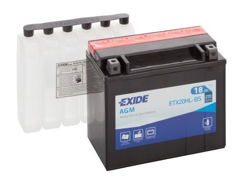 Battery 12V YTX20HL-BS EXIDE