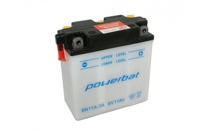 Battery 6 V 11 Ah POWERBAT 6N11A-3A