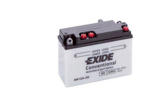 Battery 6V  12Ah 6N12A-2D EXIDE
