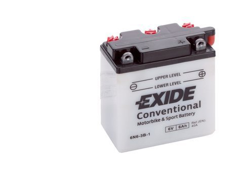 Battery 6V   6Ah 6N6-3B-1 EXIDE BIKE