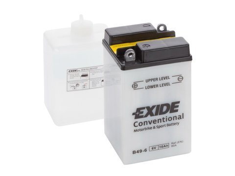 Battery 6V   8Ah B49-6 EXIDE