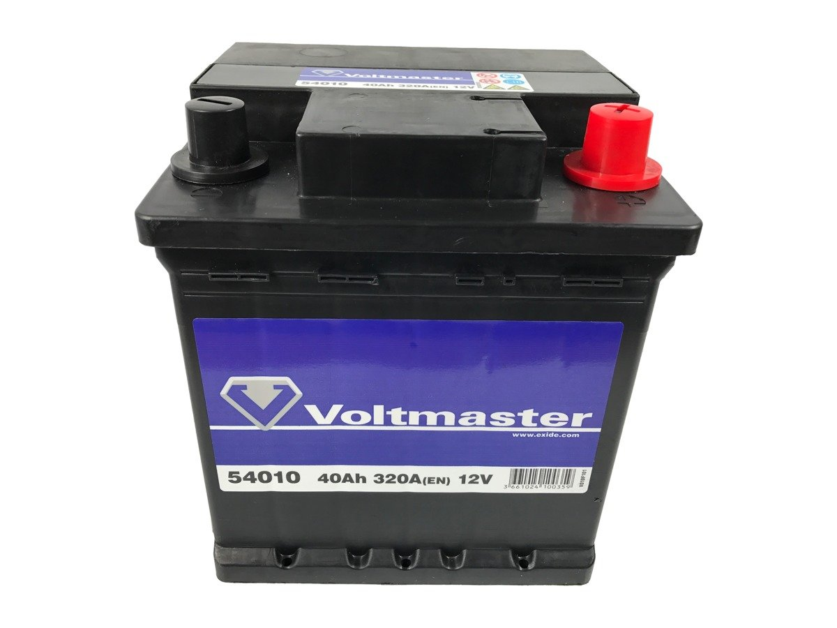 battery 12v 40ah voltmaster 54010 akumulatory car batteries voltmaster. Black Bedroom Furniture Sets. Home Design Ideas