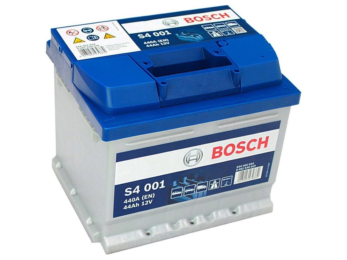 battery 12v 44ah s4001 bosch s4 akumulatory car batteries bosch bosch s4. Black Bedroom Furniture Sets. Home Design Ideas