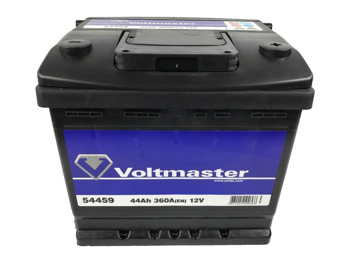battery 12v 44ah voltmaster 54459 akumulatory car batteries voltmaster. Black Bedroom Furniture Sets. Home Design Ideas