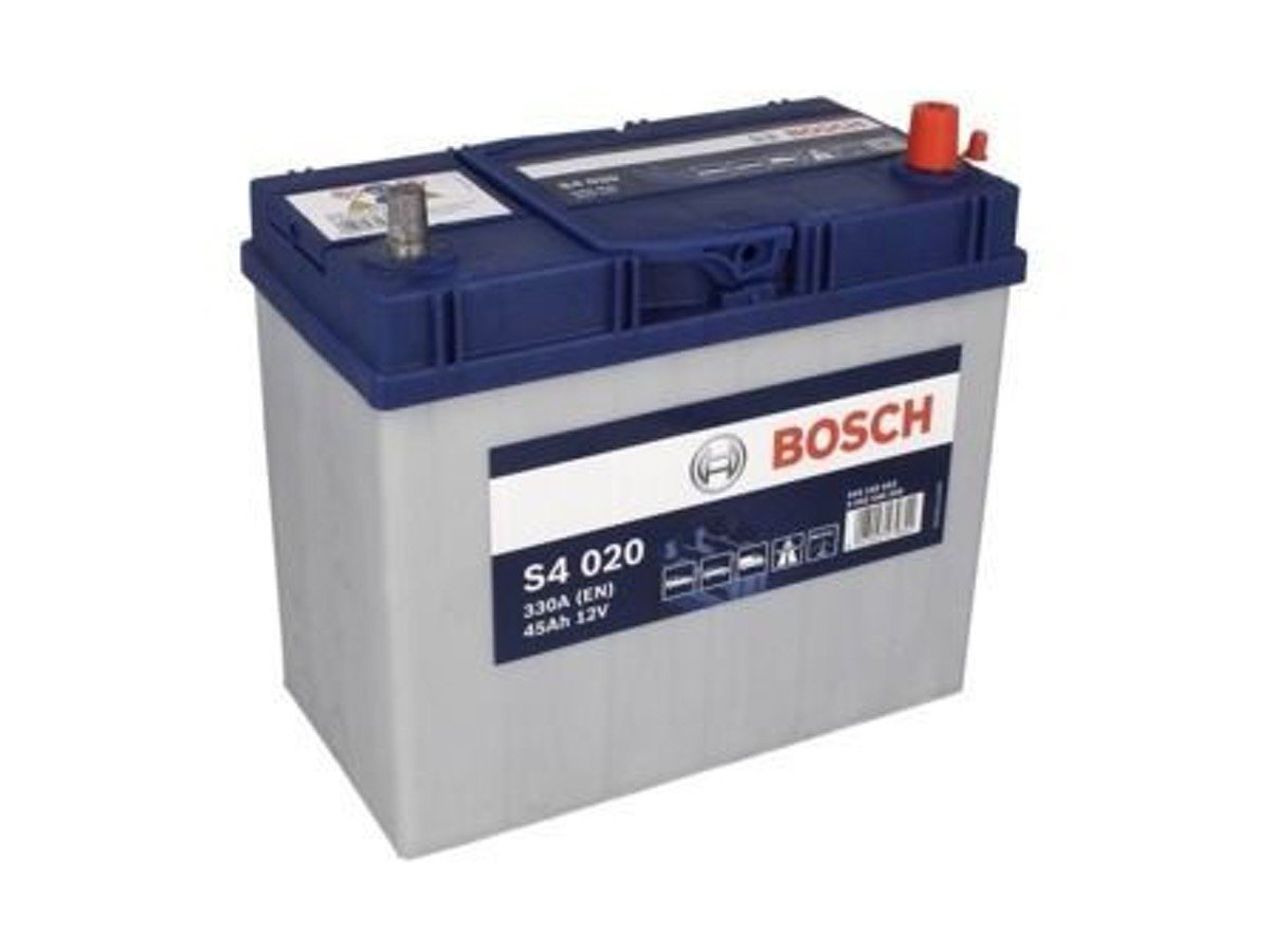 akumulator 12v 45ah s4020 bosch s4 cb456 b31 akumulatory car batteries bosch bosch s4. Black Bedroom Furniture Sets. Home Design Ideas