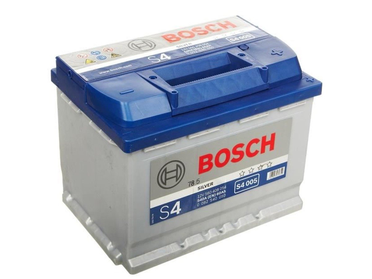 battery 12v 60ah s4005 bosch s4 akumulatory car. Black Bedroom Furniture Sets. Home Design Ideas