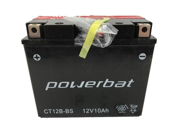 Battery 12 V 10 Ah POWERBAT CT12B-BS (CT12B-4)