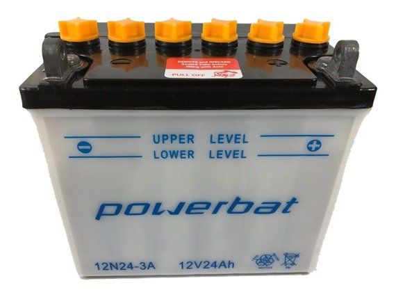 Battery 12 V 24 Ah POWERBAT 12N24-3A