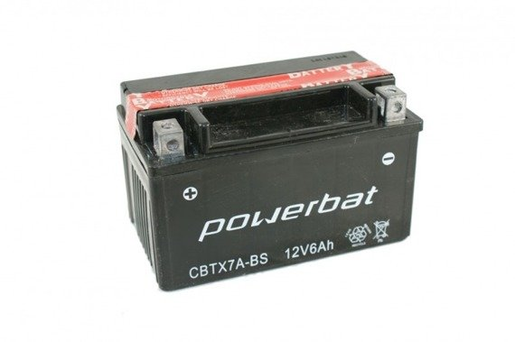 Battery 12 V  6 Ah POWERBAT CBTX7A-BS
