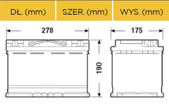 battery 12v 77ah e44 varta silver akumulatory car batteries varta varta silver dynamic. Black Bedroom Furniture Sets. Home Design Ideas