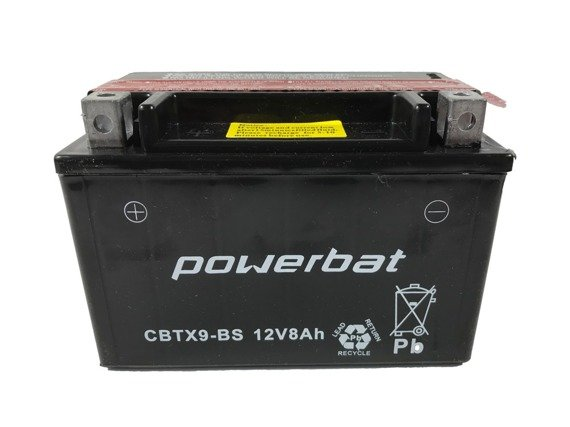 Akumulator POWERBAT 12V 9Ah CBTX9-BS