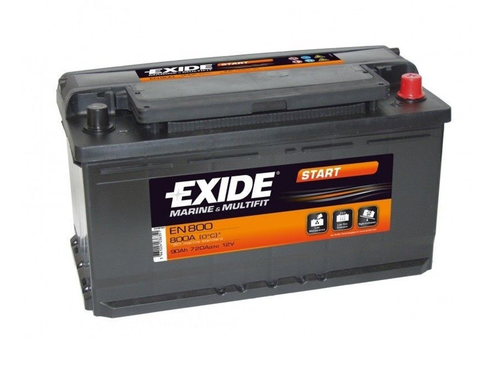battery 12v 74ah exide start en750 special batteries. Black Bedroom Furniture Sets. Home Design Ideas