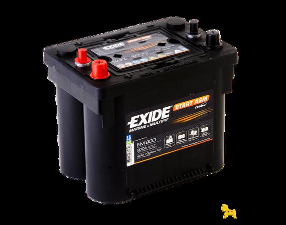 battery 12v 50ah exide start agm em1000 akumulatory special batteries exide exide. Black Bedroom Furniture Sets. Home Design Ideas