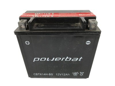 Battery 12 V 12 Ah POWERBAT CBTX14H-BS